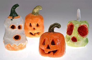 modelaj halloween