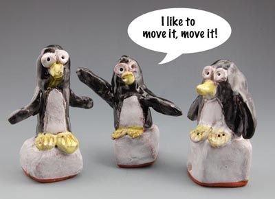 Pinguinul Dansator. Atelier pentru copii 5+ani